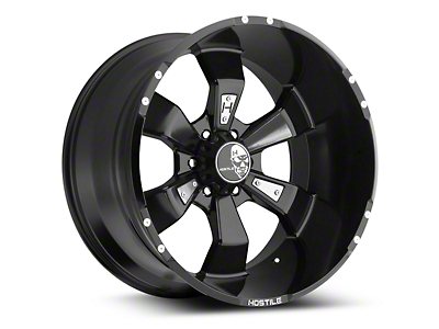 Hostile Hammered Blade Cut 6-Lug Wheel - 20x10 (07-18 Silverado 1500)