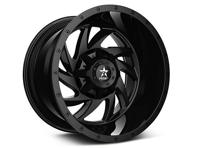 RBP 66R HK-5 Gloss Black 6-Lug Wheel; 20x9 (07-18 All)