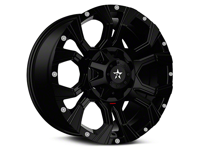 RBP 64R Widow Full Black 6-Lug Wheel - 20x10 (07-18 Silverado 1500)
