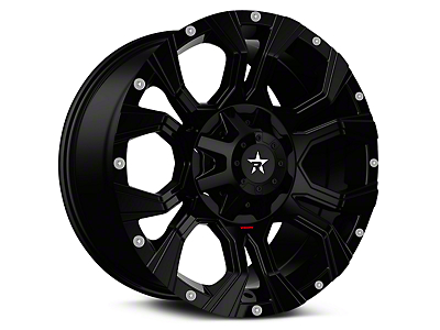 RBP 64R Widow Full Black 6-Lug Wheel - 20x10 (99-18 Silverado 1500)