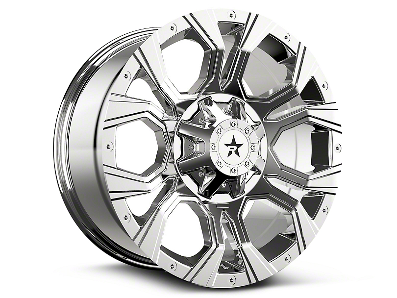 RBP 64R Widow Chrome 6-Lug Wheel - 20x10 (07-18 Silverado 1500)