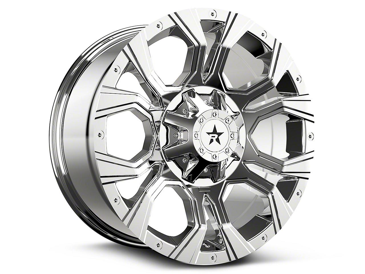 RBP 64R Widow Chrome 6-Lug Wheel - 20x10 (99-18 Silverado 1500)