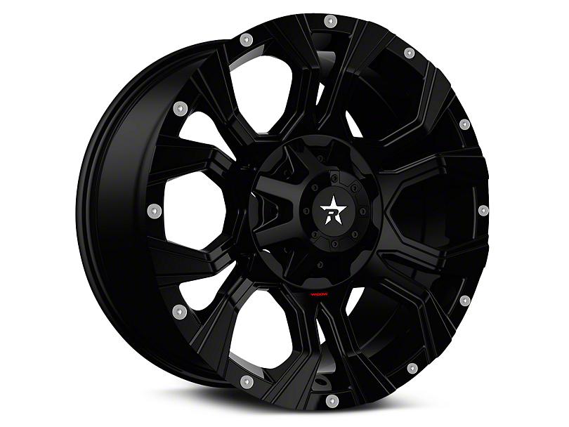 RBP 64R Widow Full Black 6-Lug Wheel - 18x9 (99-19 Silverado 1500)