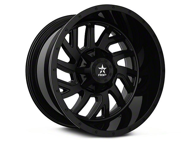 RBP 65R Glock Full Black 6-Lug Wheel - 20x10 (99-19 Silverado 1500)