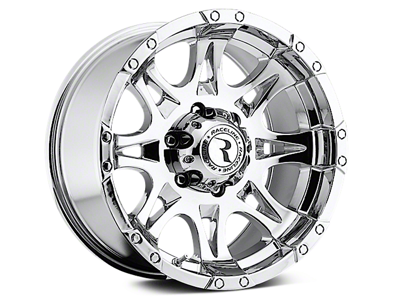 Raceline Raptor Chrome 6-Lug Wheel - 18x9 (07-18 Silverado 1500)