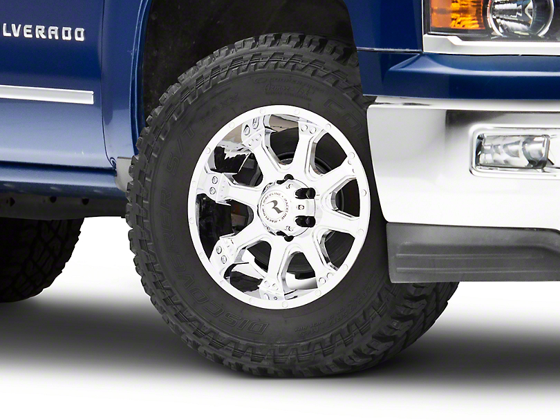 Raceline Assault Chrome 6-Lug Wheel - 18x9 (99-18 Silverado 1500)