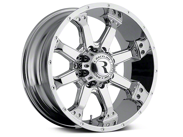 Raceline Assault Chrome 6-Lug Wheel; 20x9 (99-20 Silverado 1500)