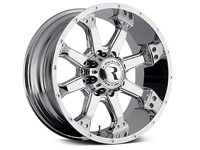Raceline Assault Chrome 6-Lug Wheel - 20x9 (07-18 Silverado 1500)
