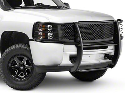 duratrek silverado brush guard black s101308 07 13 silverado 1500 2016 Chevy Silverado Grill Inserts duratrek brush guard black 07 13 silverado 1500