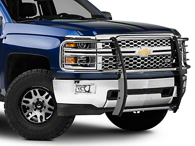 Barricade Brush Guard - Polished Stainless (14-16 Silverado 1500)