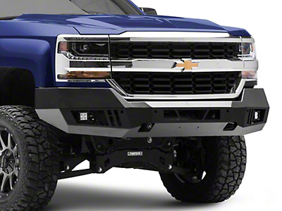 Barricade Extreme HD Front Bumper w/ LED Fog Lights (16-18 Silverado 1500)