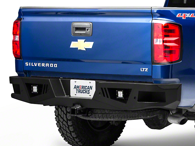 Barricade Extreme HD Rear Bumper w/ LED Flood Lights (07-18 Silverado 1500)