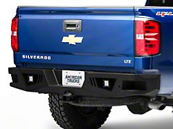 Barricade Extreme HD Rear Bumper with LED Flood Lights (07-18 Silverado 1500)