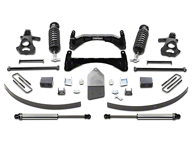 Fabtech 6 in. Performance Lift System w/ Dirt Logic 4.0 Coilovers & Shocks (07-13 2WD/4WD Silverado 1500 Extended Cab, Crew Cab)