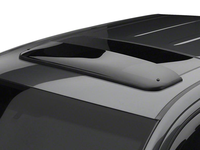 Weathertech Sunroof Wind Deflector - Dark Smoke (07-13 Silverado 1500 w/ Sunroof)