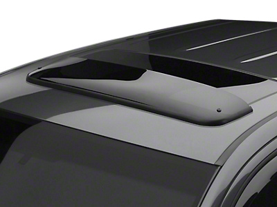 Weathertech Sunroof Wind Deflector - Dark Smoke (07-13 Silverado 1500 w/ Sunroof)