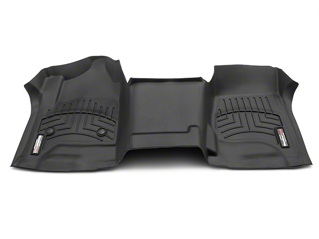 Weathertech DigitalFit Front Over the Hump Floor Liner - Black (14-18 Silverado 1500 w/o Floor Shifter)