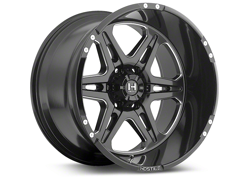 Hostile HAVOC Blade Cut 6-Lug Wheel - 20x9 (07-18 Silverado 1500)