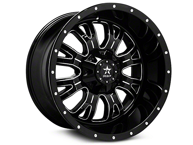 RBP 89R Assassin Gloss Black Machined 6-Lug Wheel - 18x9 (99-18 Silverado 1500)