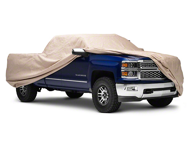 Covercraft Deluxe Custom Fit Truck Cover - Taupe (07-18 Silverado 1500)