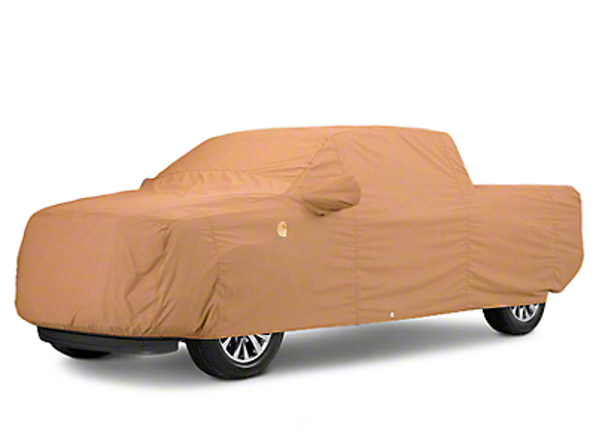Covercraft Ultratect Custom Fit Truck Cover - Carhartt Brown (07-18 Silverado 1500)