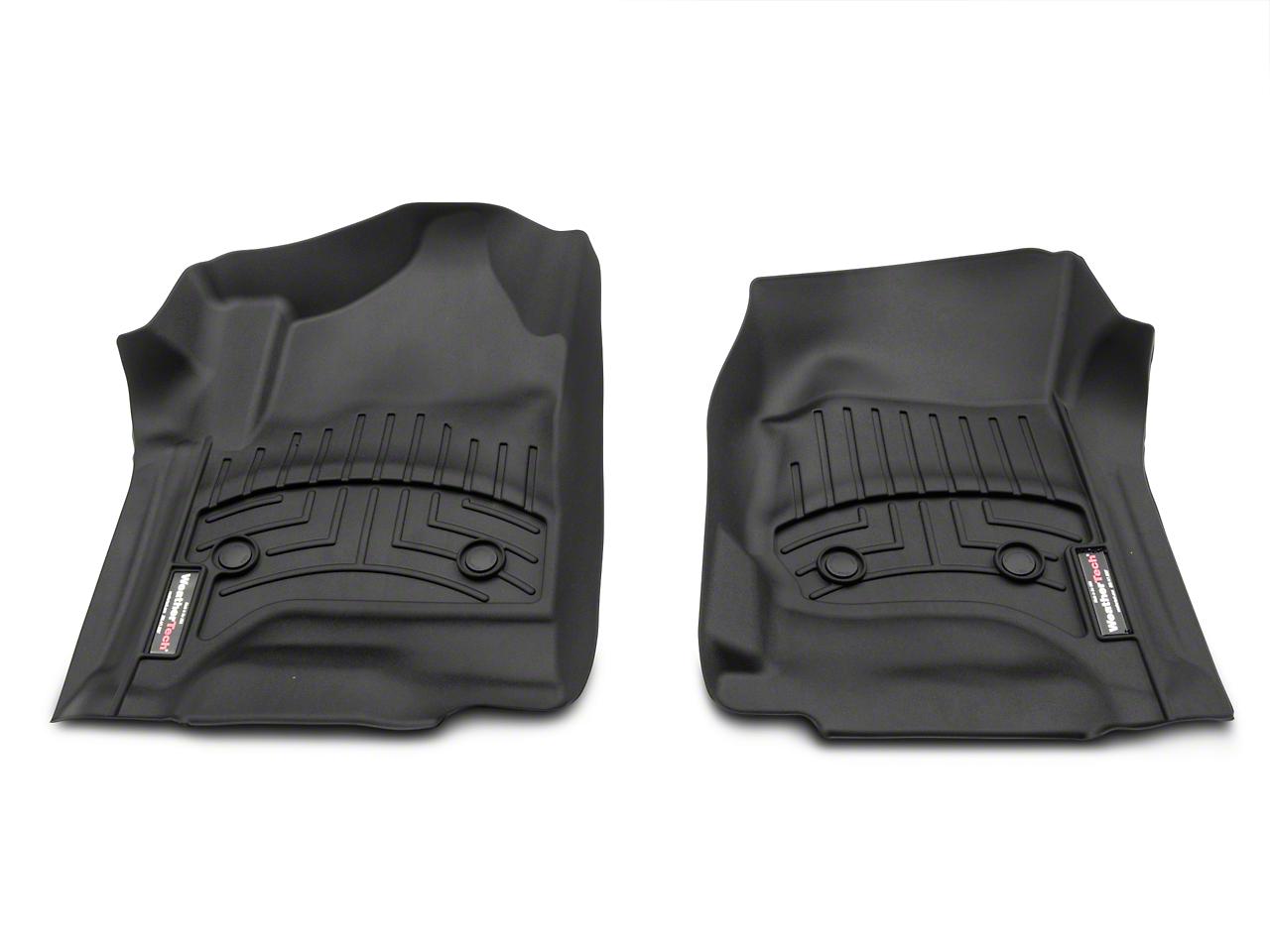 Weathertech DigitalFit Front Floor Liners - Black (14-18 Silverado 1500)