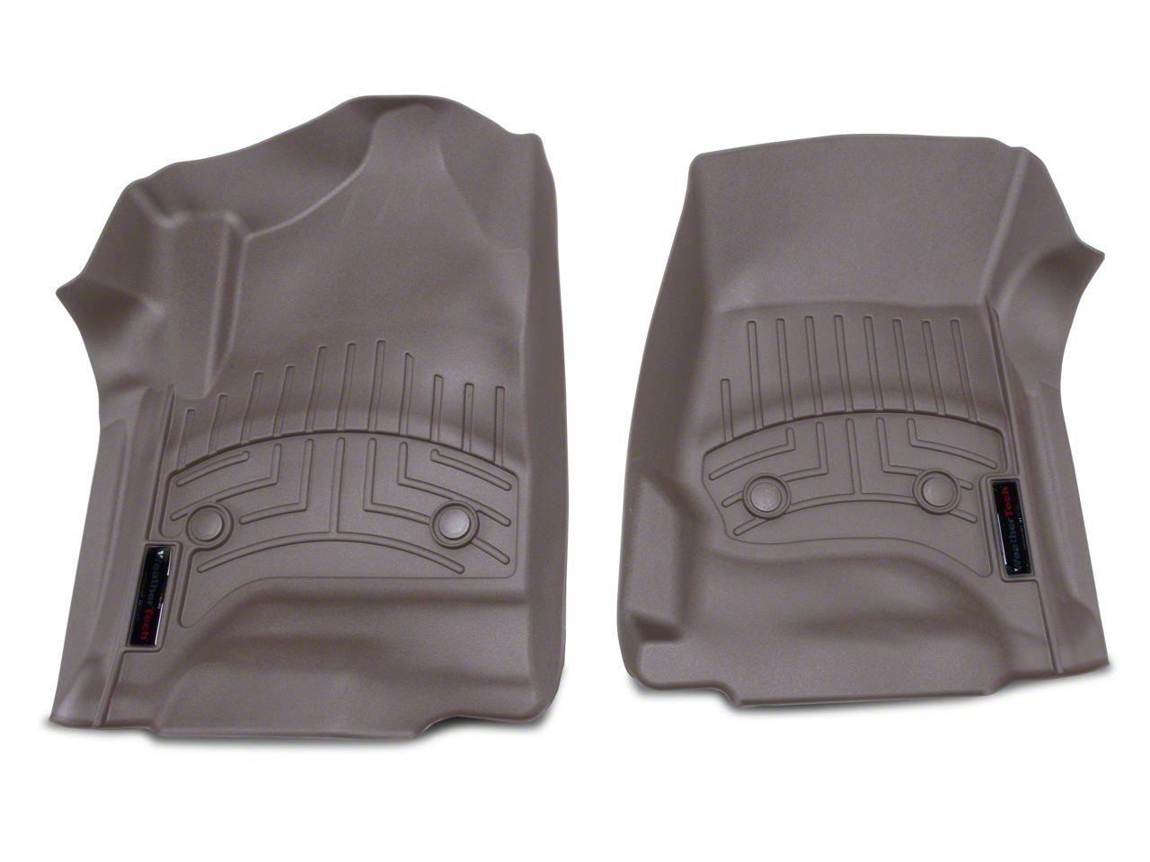 Weathertech DigitalFit Front Floor Mats - Cocoa (14-18 Silverado 1500 Double Cab