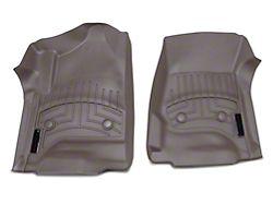 Weathertech DigitalFit Front Floor Liners - Cocoa (14-18 Silverado 1500 Double Cab, Crew Cab w/o Floor Shifter)