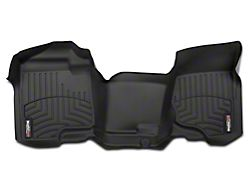 Weathertech DigitalFit Front Over the Hump Floor Liner - Black (07-13 Silverado 1500 Extended Cab, Crew Cab)