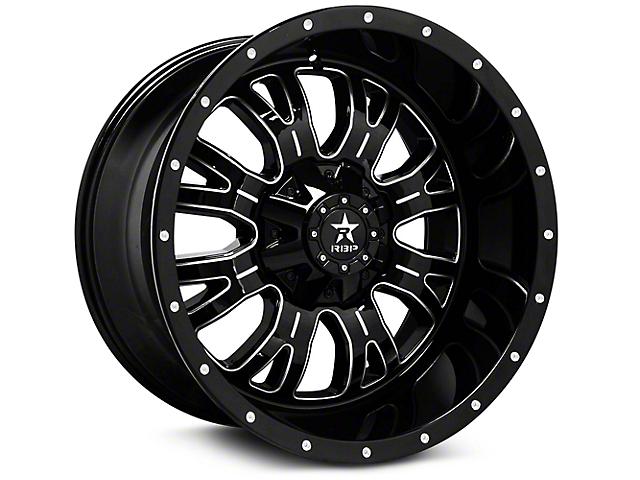 RBP 89R Assassin Gloss Black Machined 6-Lug Wheel - 20x10 (99-18 Silverado 1500)