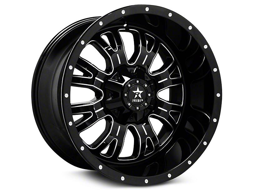 RBP 89R Assassin Gloss Black Machined 6-Lug Wheel - 20x9 (99-19 Silverado 1500)