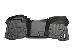 Weathertech DigitalFit Front Over the Hump & Rear Floor Liners - Black (07-13 Silverado 1500 Crew Cab)