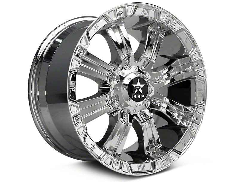 RBP 94R Chrome w/ Black Inserts 6-Lug Wheel - 18x9 (99-19 Silverado 1500)