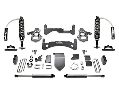 Fabtech 6 in. Gen II Performance Lift System w/ Dirt Logic 2.5 Coilover Reserviors & Shocks (14-18 2WD/4WD Silverado 1500 Double Cab, Crew Cab)