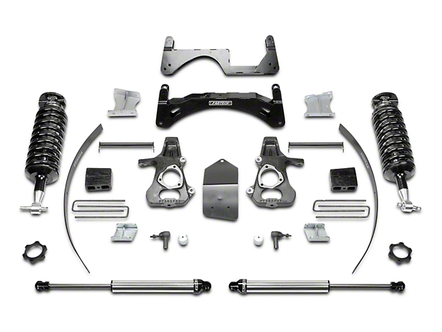 Fabtech 6 in. Performance Lift System w/ Dirt Logic 4.0 Coilovers & Shocks (14-18 2WD/4WD Silverado 1500 Double Cab, Crew Cab)