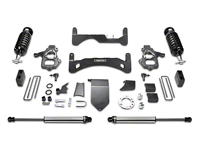 Fabtech 6 in. Gen II Performance Lift System w/ Dirt Logic 4.0 Coilovers & Shocks (14-18 2WD/4WD Silverado 1500 Double Cab, Crew Cab)