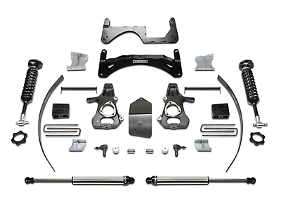 Fabtech 6 in. Performance Lift System w/ Dirt Logic 2.5 Coilovers & Shocks (14-18 2WD/4WD Silverado 1500 Double Cab, Crew Cab)