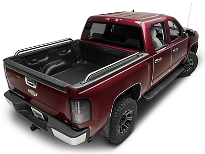 Barricade Bed Rails - Polished Stainless (07-13 Silverado 1500)