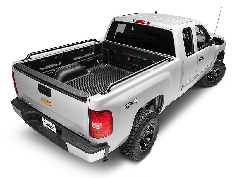 bed rails look back truck pickup new backrack rack side