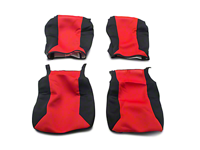 Covercraft SeatGloves Seat Covers - Red (07-13 Silverado 1500 w/ Bucket Seats)