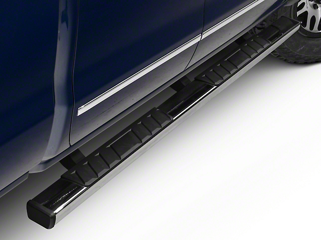 Barricade T4 Rocker Mount Side Step Bars - Polished Stainless (14-18 Silverado 1500 Double Cab, Crew Cab)