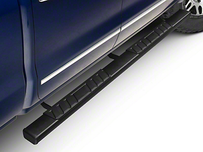 Barricade T4 Side Step Bars - Black - Rocker Panel Mount (14-18 Silverado 1500 Double Cab, Crew Cab)