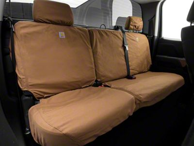 SSC8379CAMB Break-Up Country Duck Weave Covercraft Carhartt Mossy Oak Camo SeatSaver Second Row Custom Fit Seat Cover for Select Chevrolet//GMC Models
