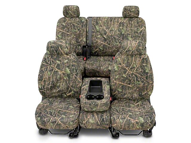 Covercraft Second Row SeatSaver Seat Cover; True Timber Conceal Green Camo (07-13 Silverado 1500 Extended Cab, Crew Cab)