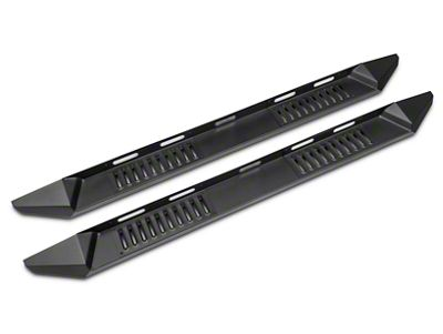 Barricade HD Steel Running Boards - Black (14-18 Silverado 1500 Crew Cab)