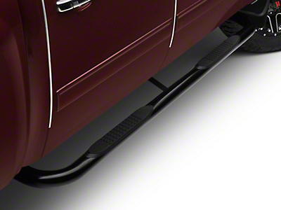 Barricade 3 in. Body Mount Side Step Bars - Black (99-13 Silverado 1500)