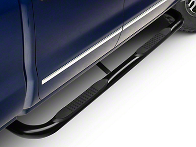 Barricade 3 in. Side Step Bars - Black - Body Mount (14-18 Silverado 1500)
