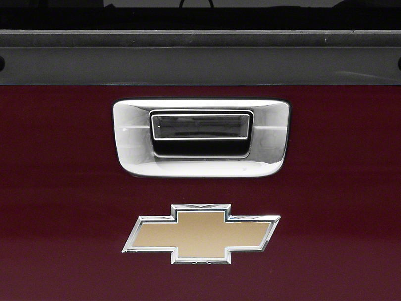 Putco Chrome Tailgate Handle Covers (07-13 Silverado 1500)