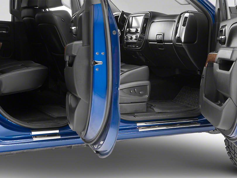 Putco Stainless Steel Door Sills (14-18 Silverado 1500)