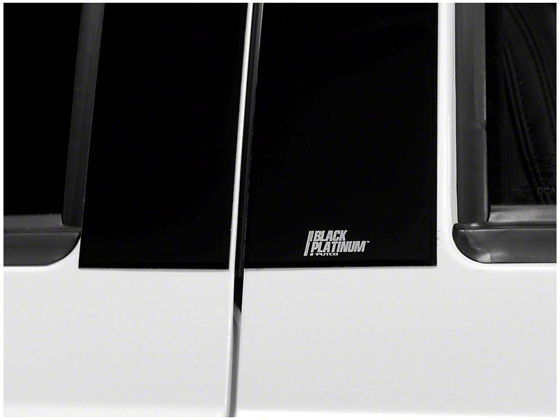 Putco Black Platinum Pillar Posts (07-13 Silverado 1500 Extended Cab, Crew Cab)
